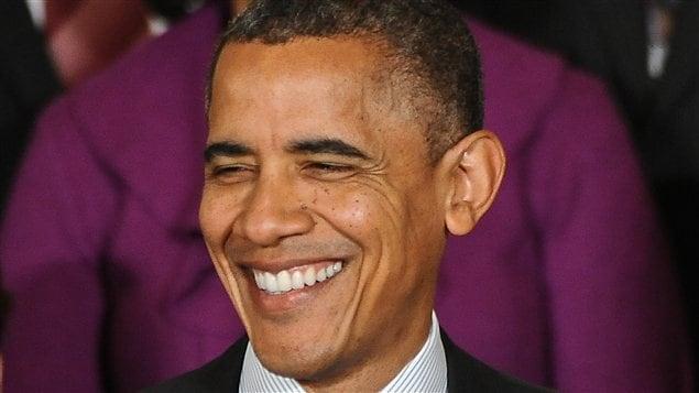 Barack Obama à la Maison-Blanche