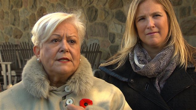 Louise Harel et Cindy Leclerc de Vision Montréal