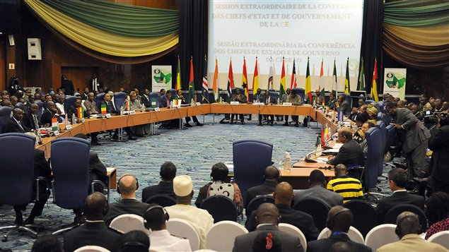 Sommet réunissant les dirigeants des pays membres de la CEDEAO et de quelques autres pays africains à Abuja, au Nigeria.