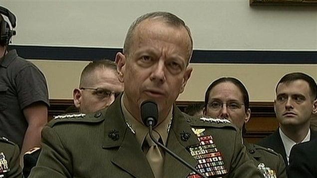 Le général John Allen, commandant des forces de l'OTAN en Afghanistan