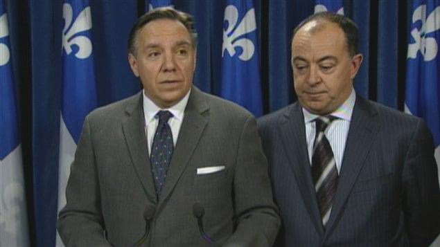 Le chef de la Coalition avenir Québec (CAQ) François Legault.