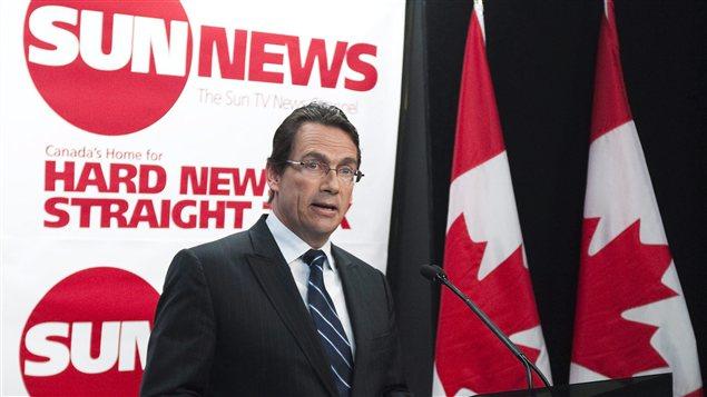 Le PDG de Québecor, Pierre Karl Péladeau