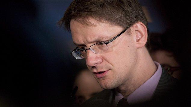 Le ministre des Affaires municipales du Québec, Sylvain Gaudreault (archives)