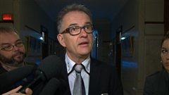 Réjean Hébert, ministre de la Santé et des Services sociaux du Québec