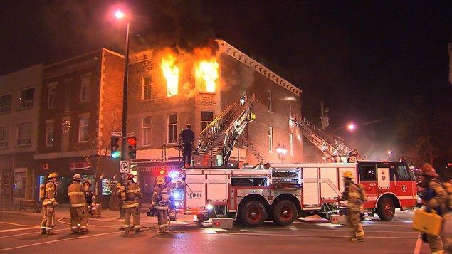 Incendie mortel dans Hochelaga-Maisonneuve