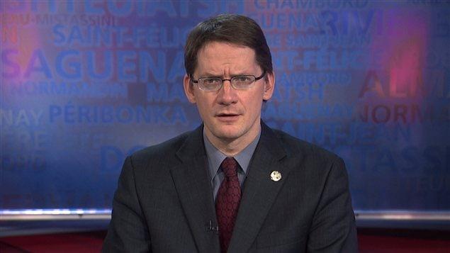Le ministre des Affaires municipales du Québec, Sylvain Gaudreault