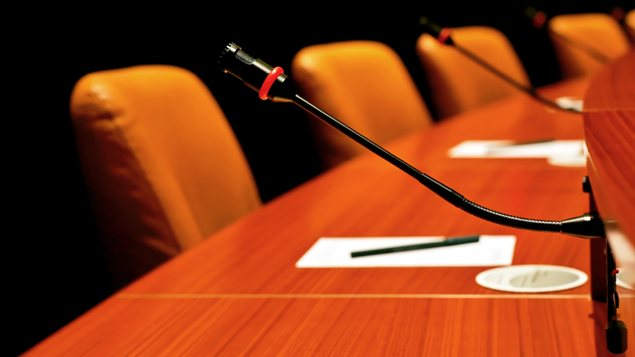 Salle d'un conseil municipal