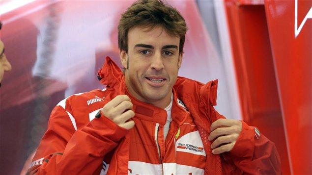 Fernando Alonso à Austin