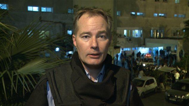 Jean-François Bélanger à Gaza