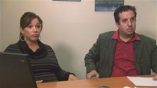 Sarah Sullivan, propriétaire de Navillus, et Jean-Sébastien Monette, propriétaire du Club Vacances Toutes Saisons