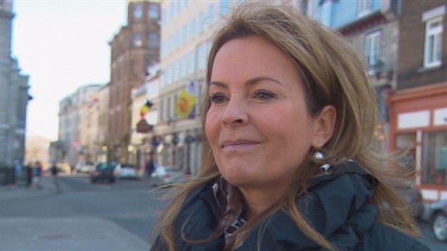 La chef de Démocratie Québec, Anne Guérette