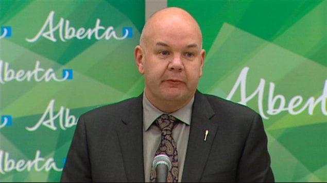 Le ministre de la Santé, Fred Horne