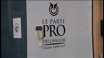 Les bureaux du parti PRO des Lavallois
