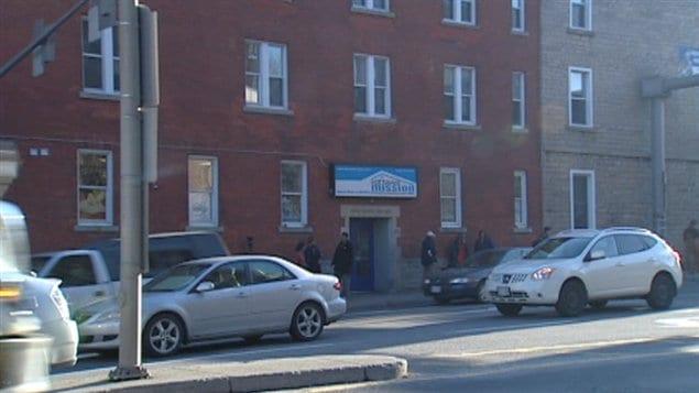 L'Ottawa Mission est l'un des organismes qui accueillent les sans-abri dans la capitale.