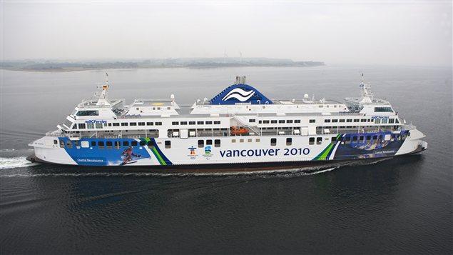 Le navire Coastal Renaissance de la BC Ferries.