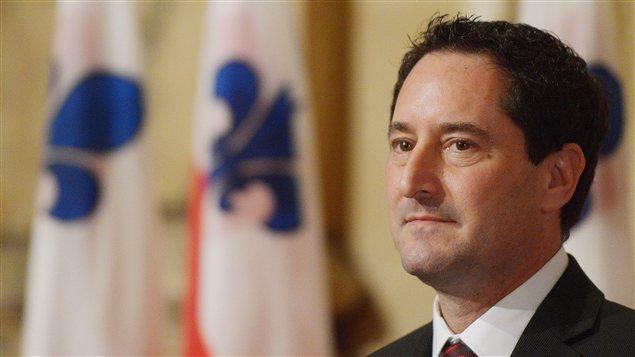 Le maire de Montréal, Micheal Applebaum