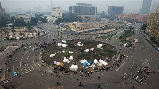 La place Tahrir au Caire