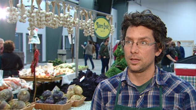 Le président du Marché des fermiers d'Ottawa, Robin Turner