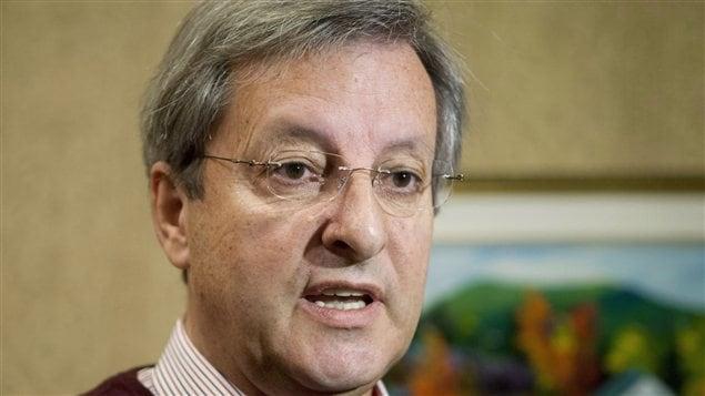 Le maire de Saguenay, Jean Tremblay