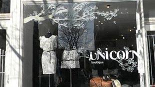 La vitrine de Paule T.B. chez Unicorn