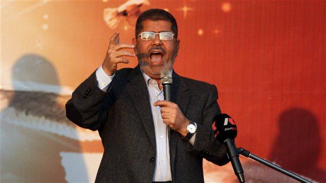 Le président égyptien, Mohamed Morsi