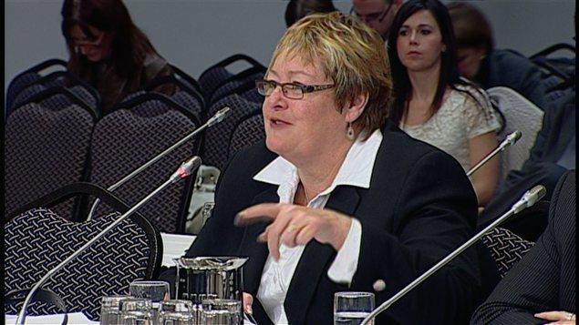 Marie-France Kenney a livré un plaidoyer en faveur des communautés francophones à l'extérieur du Québec.