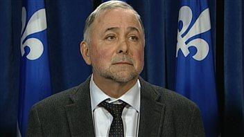 Le député libéral Pierre Paradis
