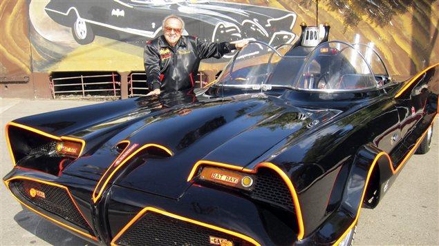 La Batmobile originale et l'homme qui l'a conçu, George Barris