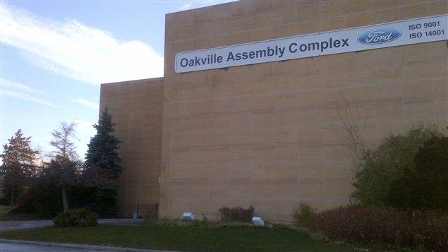 L'usine d'assemblage Ford à Oakville