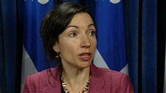 La ministre des Ressources naturelles Martine Ouellet doute de la rentabilité du projet de Muskrat Falls.