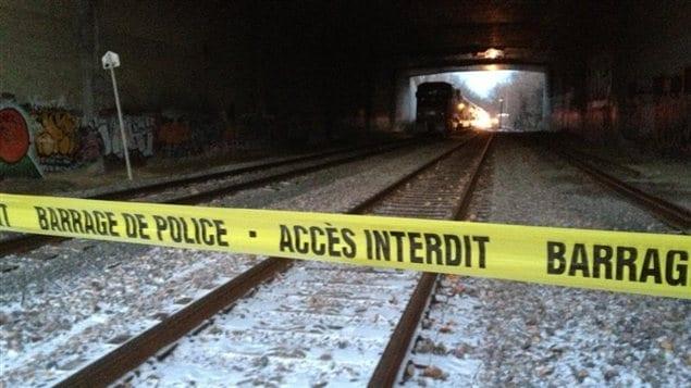 Ce tunnel passe sous l'autoroute 640 entre Rosemère et Sainte-Thérèse.