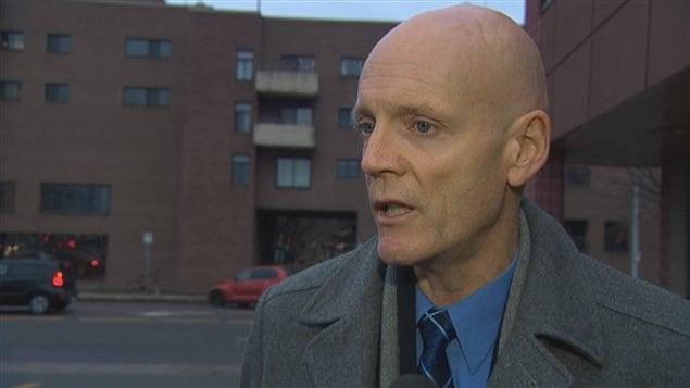 Bernard Lehré, président de la Fraternité des policiers de la Ville de Québec