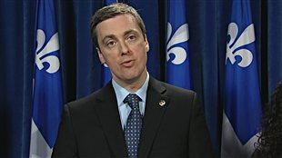 Le député libéral Marc Tanguay
