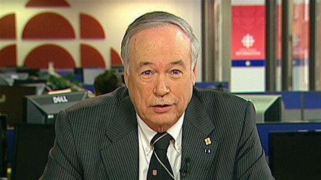 Le recteur de l'Université Laval, Denis Brière