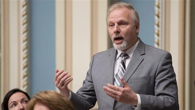 Le ministre québécois des Relations internationales, Jean-François Lisée