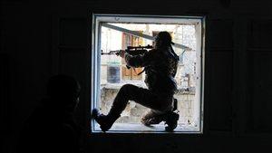 Un rebelle syrien dans la région d'Alep (archives)