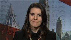 La députée de Pierrefonds-Dollar, Lysane Blanchette-Lamothe
