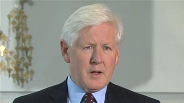 Le chef intérimaire du PLC, Bob Rae