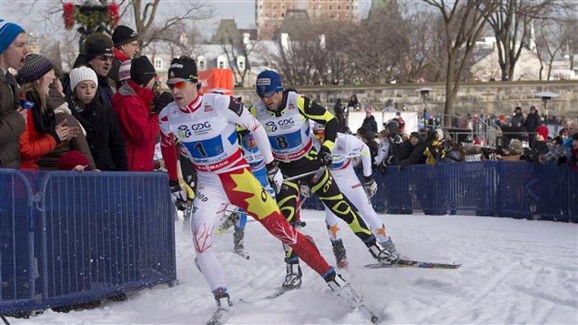 Alex Harvey lors du sprint