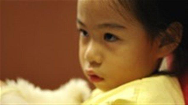 Une enfant autochtone (archives)