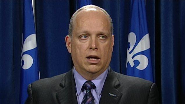 Le ministre de la Sécurité publique, Stéphane Bergeron