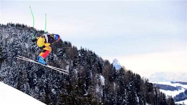 Le Canadien Jan Hudec à Val Gardena