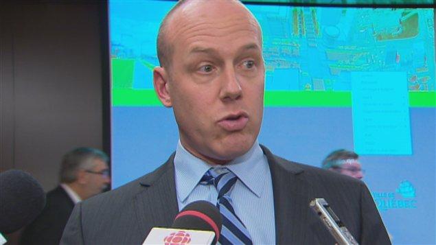 Frédéric Paul, porte-parole du Comité de valorisation de Saint-Yves