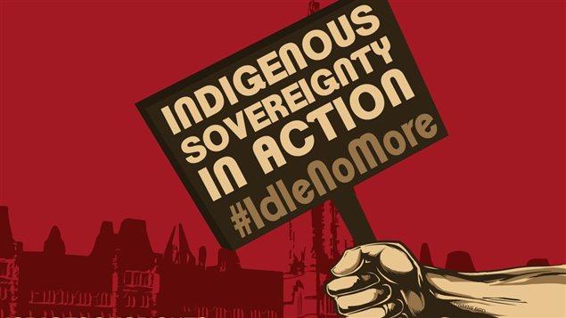 Les Premières Nations se mobilisent grâce au mouvement Idle No More
