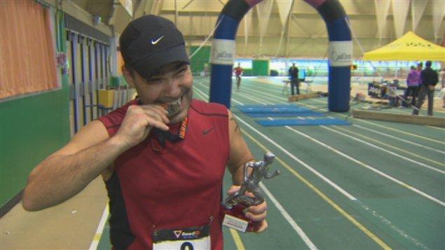 Sherbrooke a accueilli une première édition d'un marathon intérieur ce week-end.