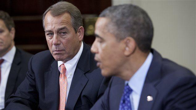 John Boehner et Barack Obama, à la mi-novembre
