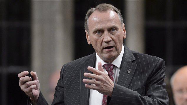 John Duncan, député conservateur de la circonscription Île de Vancouver-Nord, en Colombie-Britannique.