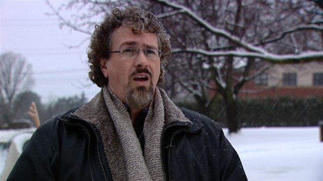 André Mousseau, copropriétaire de la clinique Thérapie chrétienne de l'Outaouais