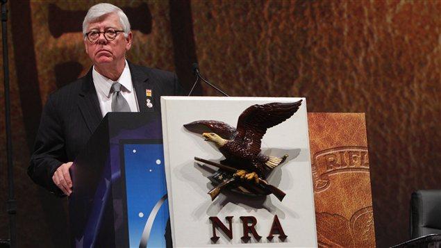 Le président de la NRA, David Keene