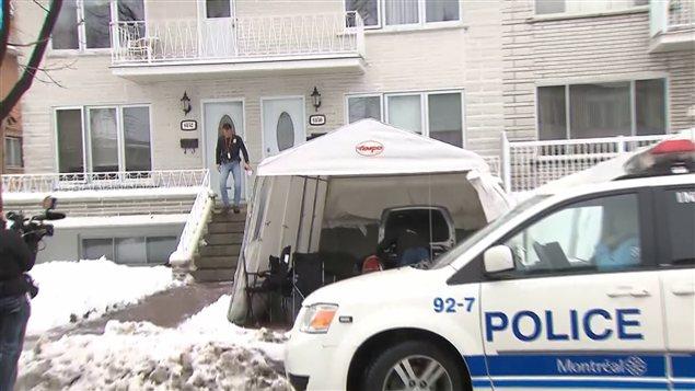 Une série de perquisitions ont lieu à Saint-Léonard, à Montréal, et à Laval, en lien avec la mafia montréalaise.
